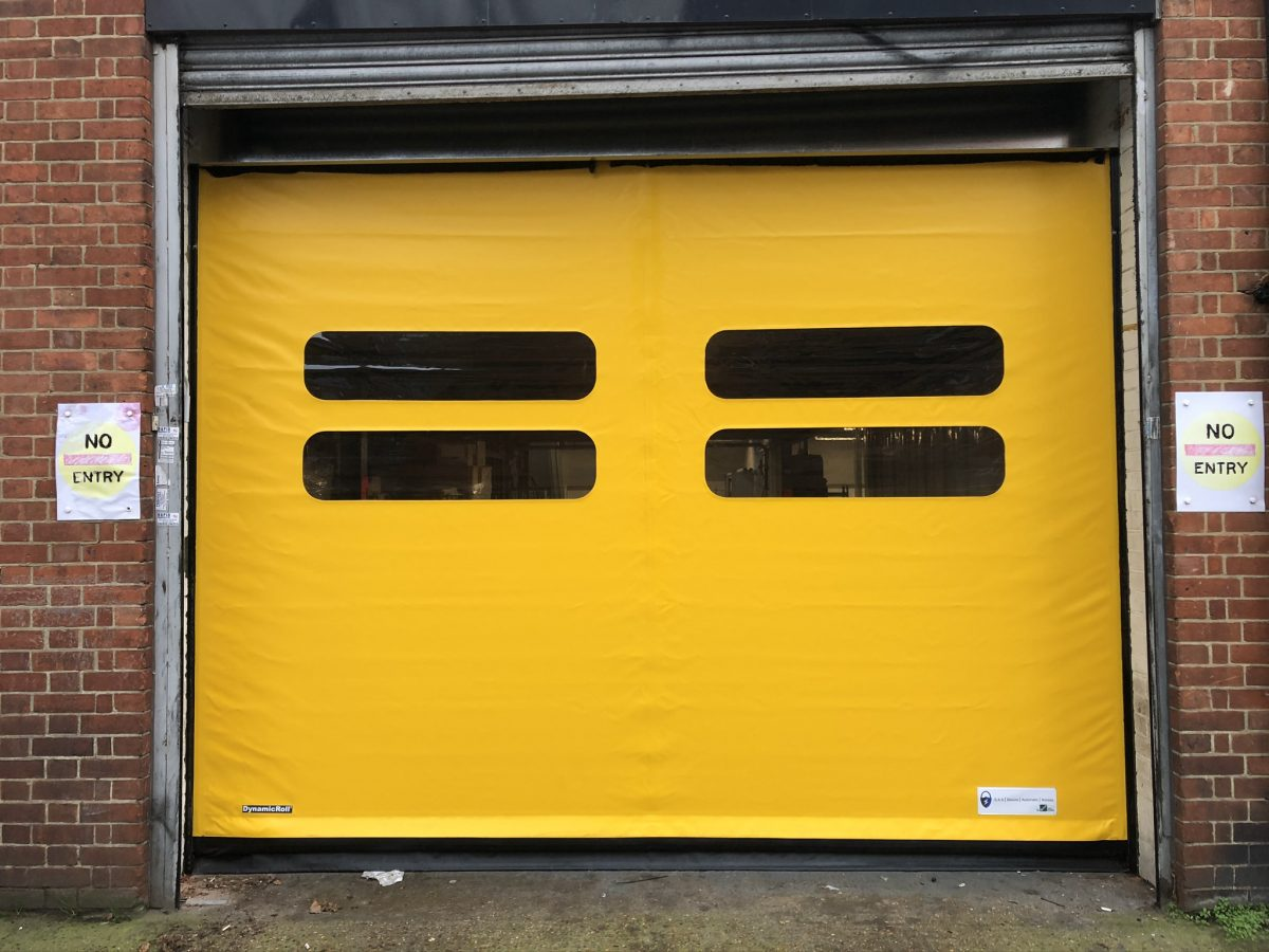 High Speed UPVC Curtain, Curb Mobility Limited, Camberwell